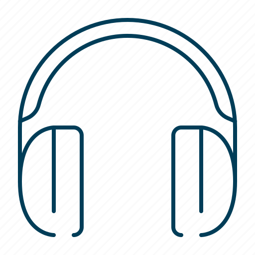 audio, head, headphones, music, sound, speakers icon
