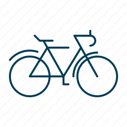 bicycle, bike, cycling, ride, transport icon