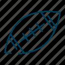 football, america, american, ball, game, sports icon