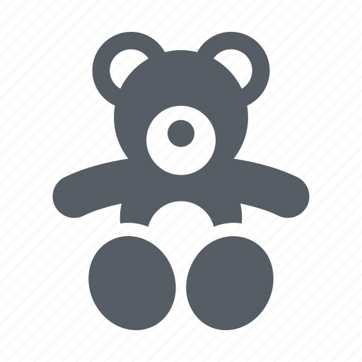 animal, baby, bear, child, stuffed, teddy icon