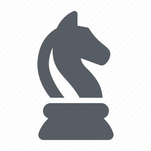 chess, game, horse, piece, strategy icon