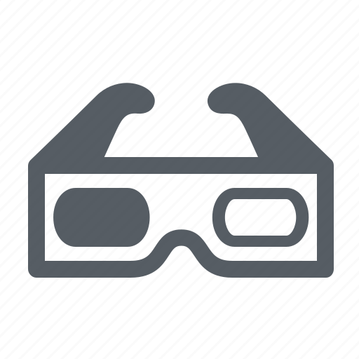 3d, cinema, glasses, movies icon - Download on Iconfinder