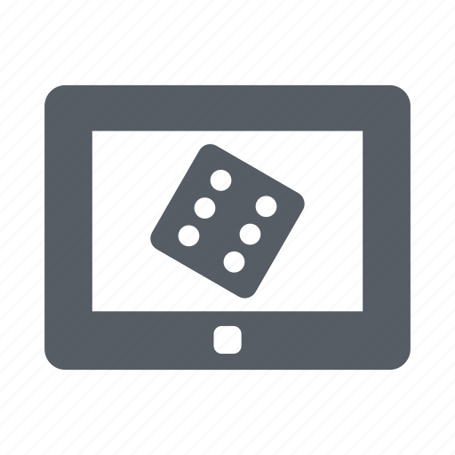 casino, gambling, game, online, play, tablet icon