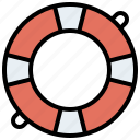 floating, help, lifebuoy, lifeguard, lifesaver, security icon