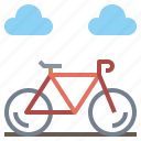 bicycle, bike, cycling, exercise, sport, sports, transport, vehicle icon