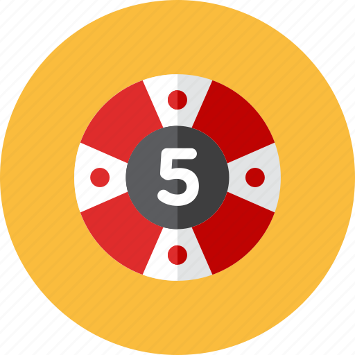 casino, coin icon