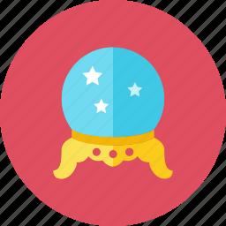 globe, magic icon
