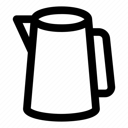 drink, ice, jug, pitcher, water icon