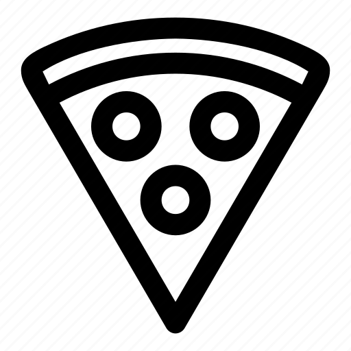 eat, italian, pizza, slice, treat icon