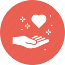 care, forgive, heart, love, medical, romance, valentine icon