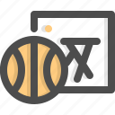 activity, basketballsports, competition, education, physical, sport, team icon