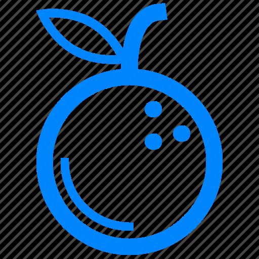 chef, fruit, kitchen, orange icon