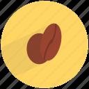bean, beverage, caffeine, coffee, drink, fresh icon