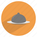 breakfast, dinner, food, kitchen, meal, restaurant, serve icon