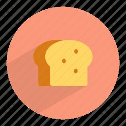 bake, bakery, bread, gluten, loaf, toast, wheat icon