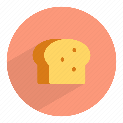 bake, bakery, bread, gluten, loaf, toast, wheat icon