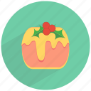 cake, celebration, cheese, cherries, christmas, dessert, sweet icon
