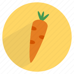 carrot, food, fruit, healthy, vegetable icon