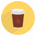 beverage, caffeine, coffee, cup, drink, espresso, hot icon