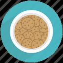 chips, chocoloate, chunks, cookies, dessert, sugar, sweet icon