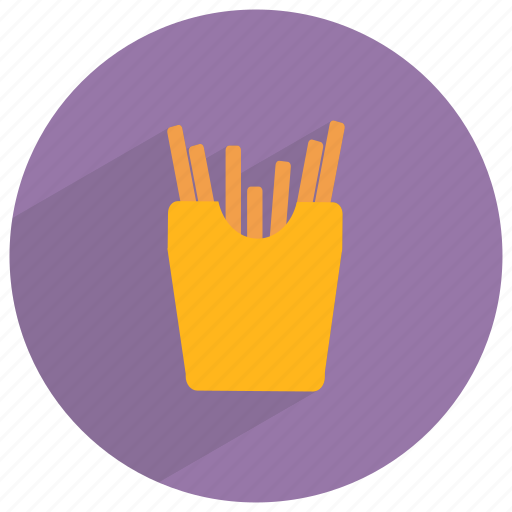 chips, french, fried, fries, potatoes, wedges icon