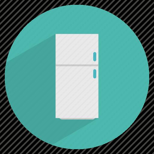 appliance, cool, fridge, kitchen, refrigerator, utility icon