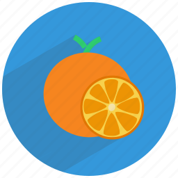 citric, citrus, food, fruit, healthy, orange, vitamin c icon