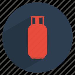 cook, cylinder, gas, kitchen, utility icon