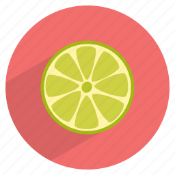 food, fruit, green, healthy, lemon, lime icon