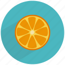 citrus, food, fruit, healthy, orange, vitaminc icon