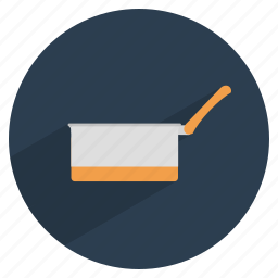 cook, food, kitchen, pan, sauce, utensil, vessel icon