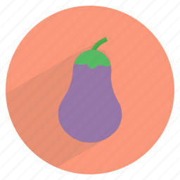 eggplant, food, fresh, groceries, healthy, vegetable, veggie icon
