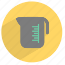 boiler, jar, kitchen, measure, vessel, water icon