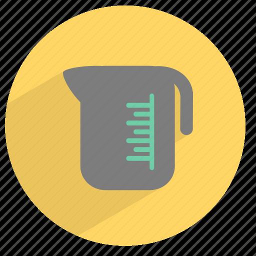 boiler, jar, kitchen, measure, vessel, water icon