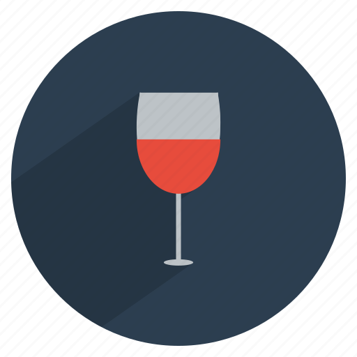 alcohol, dinner, drink, glass, red, wine icon