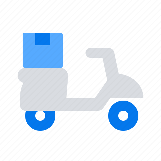 Bike, delivery, package icon - Download on Iconfinder