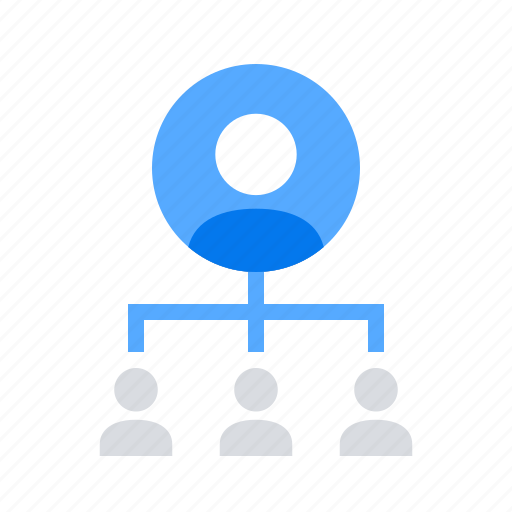 Hierarchy, lead, manager icon - Download on Iconfinder