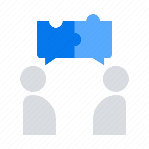 collaboration, discussion, teamwork icon
