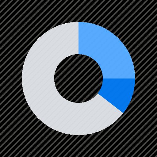 analytics, diagram, pie chart icon