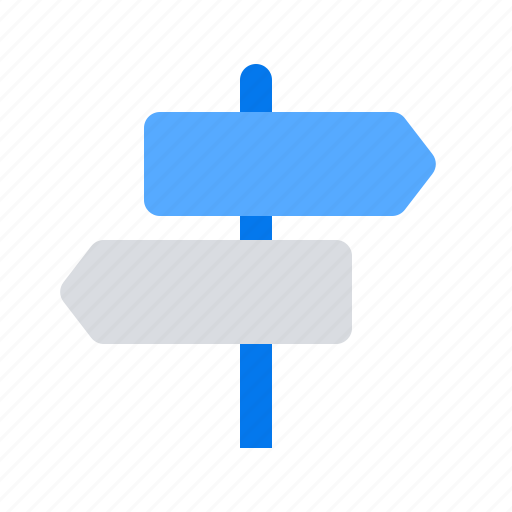 direction, navigation, route icon
