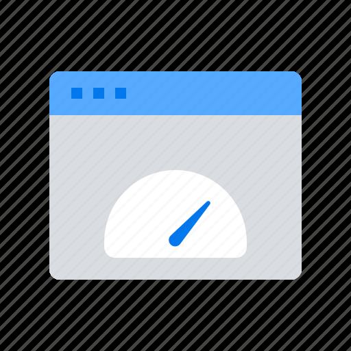 dashboard, page, response, server icon