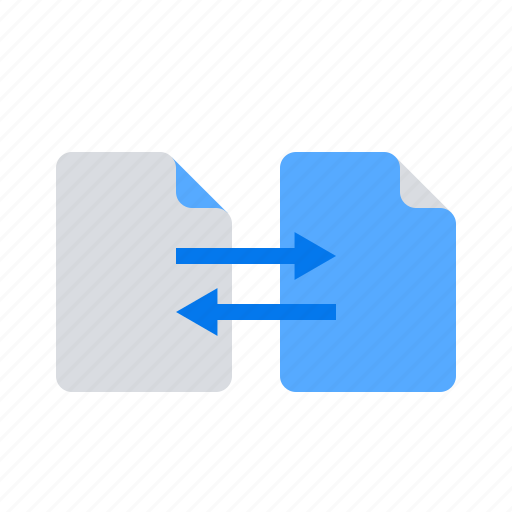 Documents, exchange, files icon - Download on Iconfinder