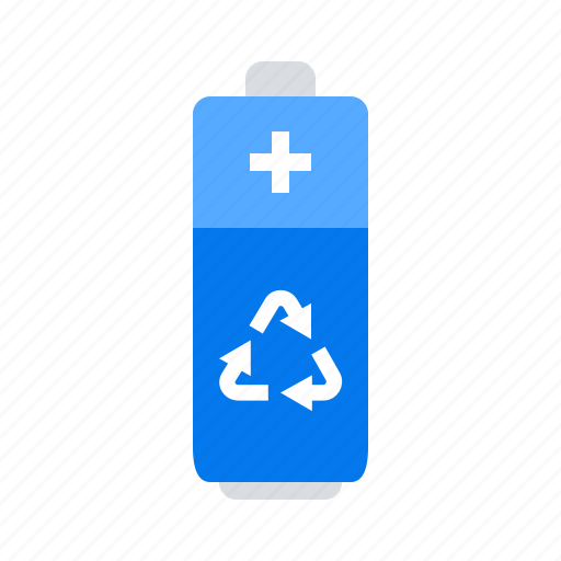 Battery, garbage, recycle icon - Download on Iconfinder