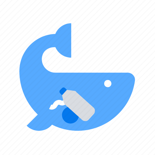 Ocean, wale, waste icon - Download on Iconfinder