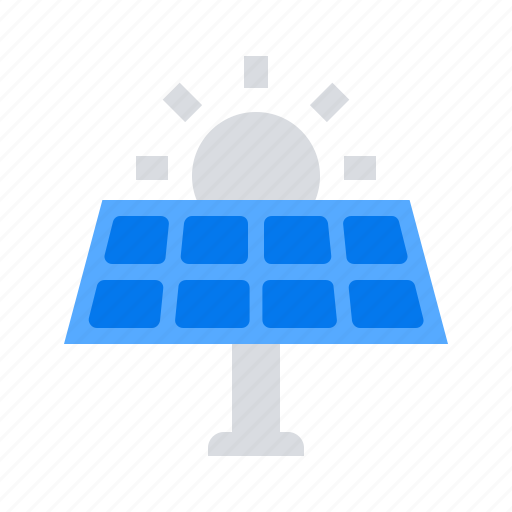 Energy, sun, solar panel icon - Download on Iconfinder