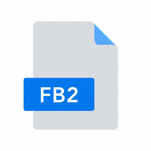 Ebook, fb2, format icon - Download on Iconfinder