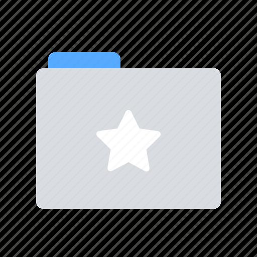 Folder, special, star icon - Download on Iconfinder