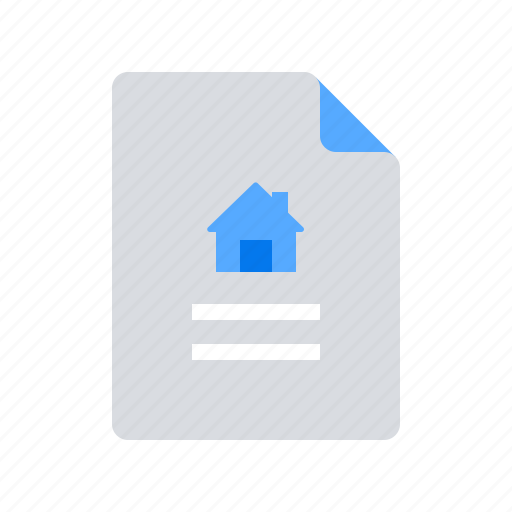 home, house, insurance policy icon