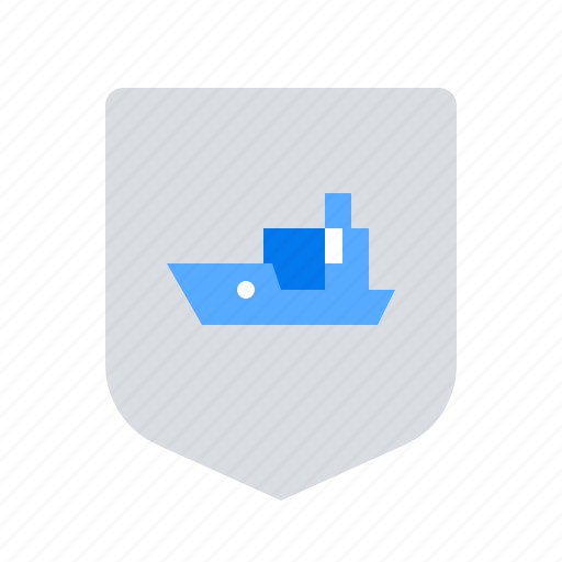 insurance, marine, ship icon