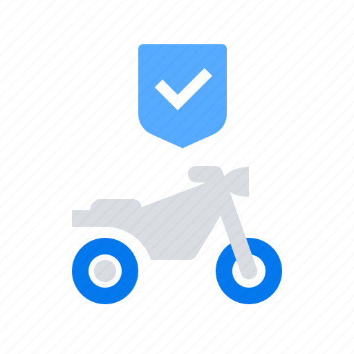 motorcycle, protection, vehicle icon